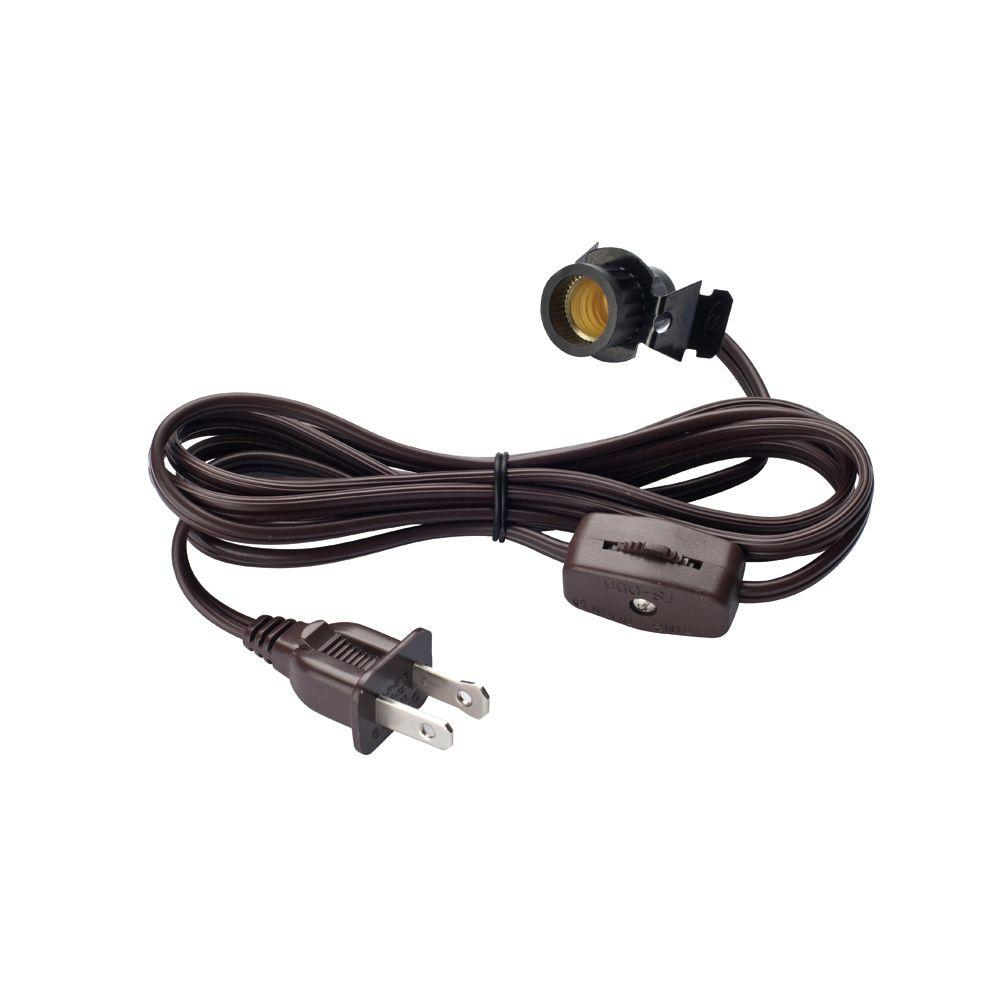 hight resolution of cord set with candelabra base socket and cord switch
