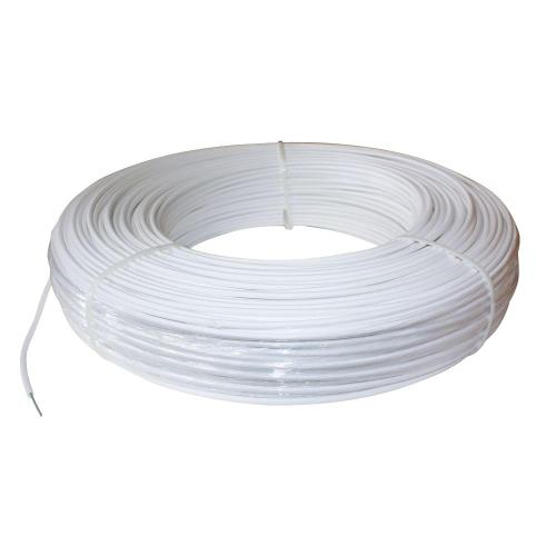 small resolution of 12 5 gauge white safety coated high tensile horse fence wire