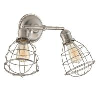 Filament Design 2-Light Satin Nickel Adjustable Sconce-ECT ...