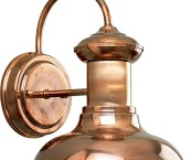 copper outdoor light