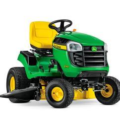 22 hp v twin gas hydrostatic lawn tractor [ 1000 x 1000 Pixel ]