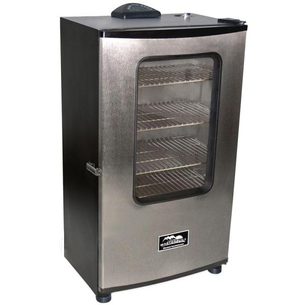 Masterbuilt Pro 30 In. Digital Electric Smoker With Window-20071011 - Home Depot