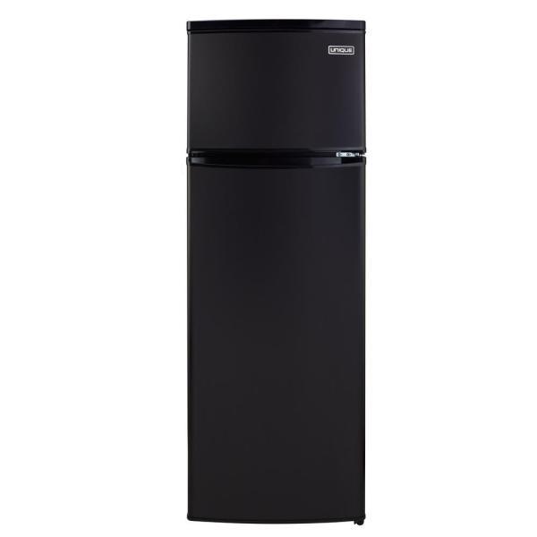 Unique 13 Cu. Ft. 370 L Solar Dc Top Freezer Refrigerator Danfoss Secop Compressor In Black-ugp