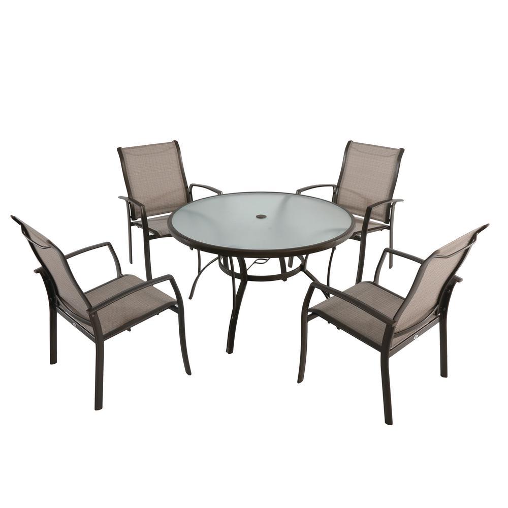 hampton bay outdoor dining table