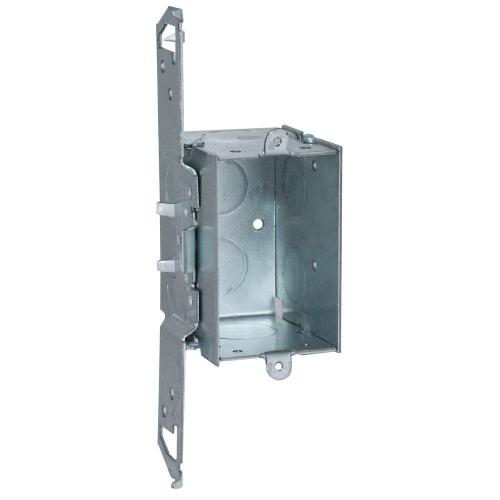 small resolution of deep gangable switch box with 1 2 and 3 4 in ko s and ts bracket set back 1 2 in 50 pack