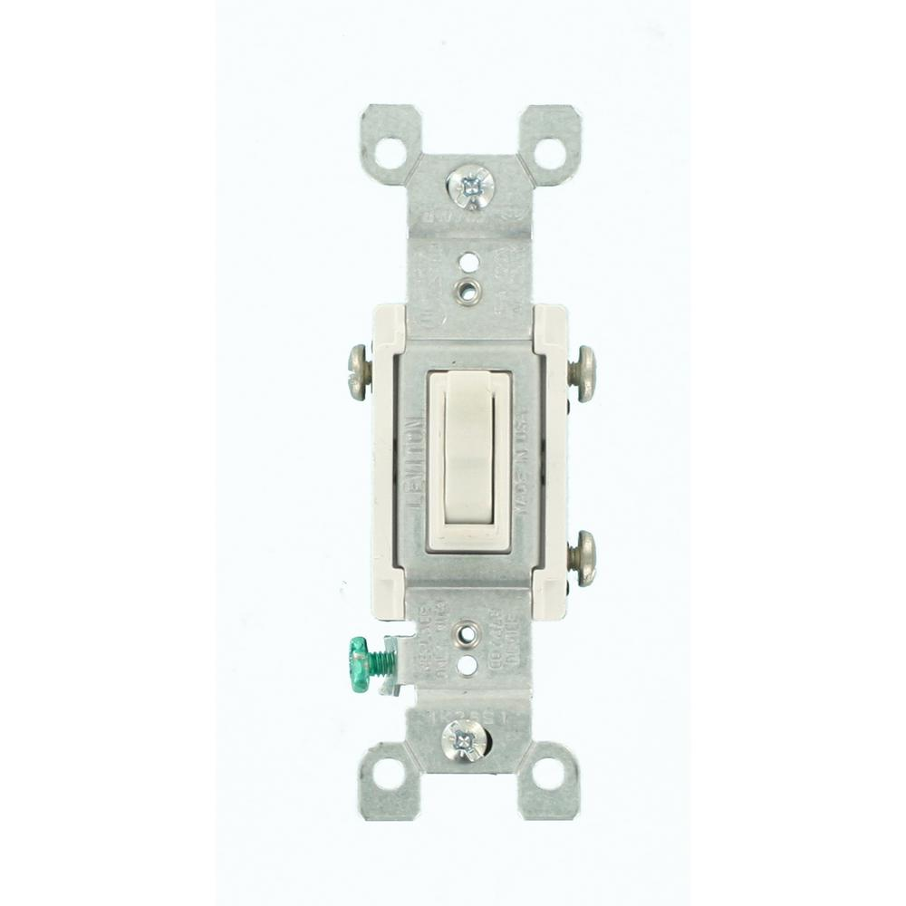 medium resolution of leviton 15 amp 3 way co alr ac quiet toggle switch white r62 02653 leviton white toggle wall light switch co alr aluminum wiring 3way