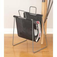 16 in. x 20 in. Modern Metal Fabric Magazine Holder in