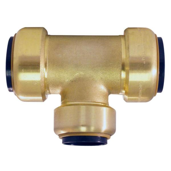 Tectite 1 4 In Brass Push Connect Tee Fsbt14 - Year of Clean