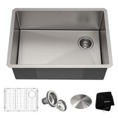27 Kitchen Sink Cafe Wall Decor Kraus Standart Pro Undermount Stainless Steel In Single Bowl