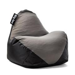 Big Joe Bean Bag Chair Swing Mudah Warp Black Dark Grey Spandex And Smartmax