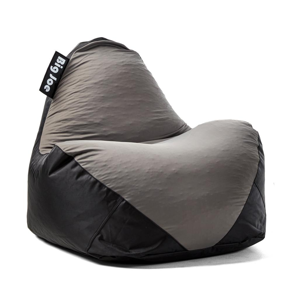 big joe bean bag chair baby shower rental in boston ma warp black dark grey spandex and smartmax