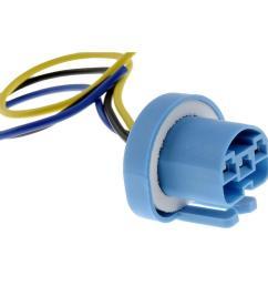 high temperature socket for 9004 9007 bulb [ 1000 x 1000 Pixel ]