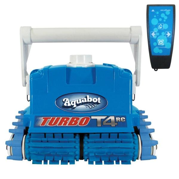 Aquabot Turbo T4-rc Cleaner With Caddy In-ground Pools-ne3446 - Home Depot