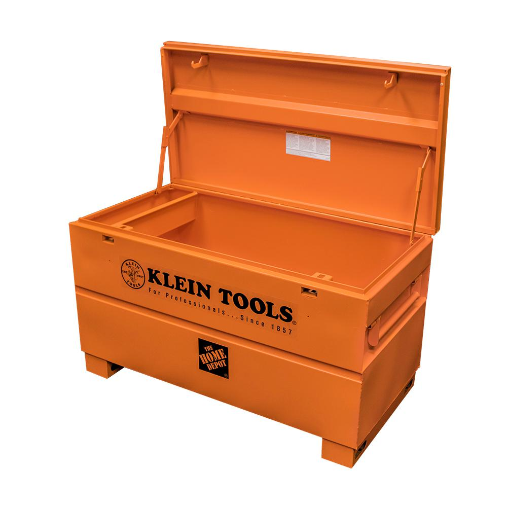 hight resolution of steel tool job site box 54605 the home depot