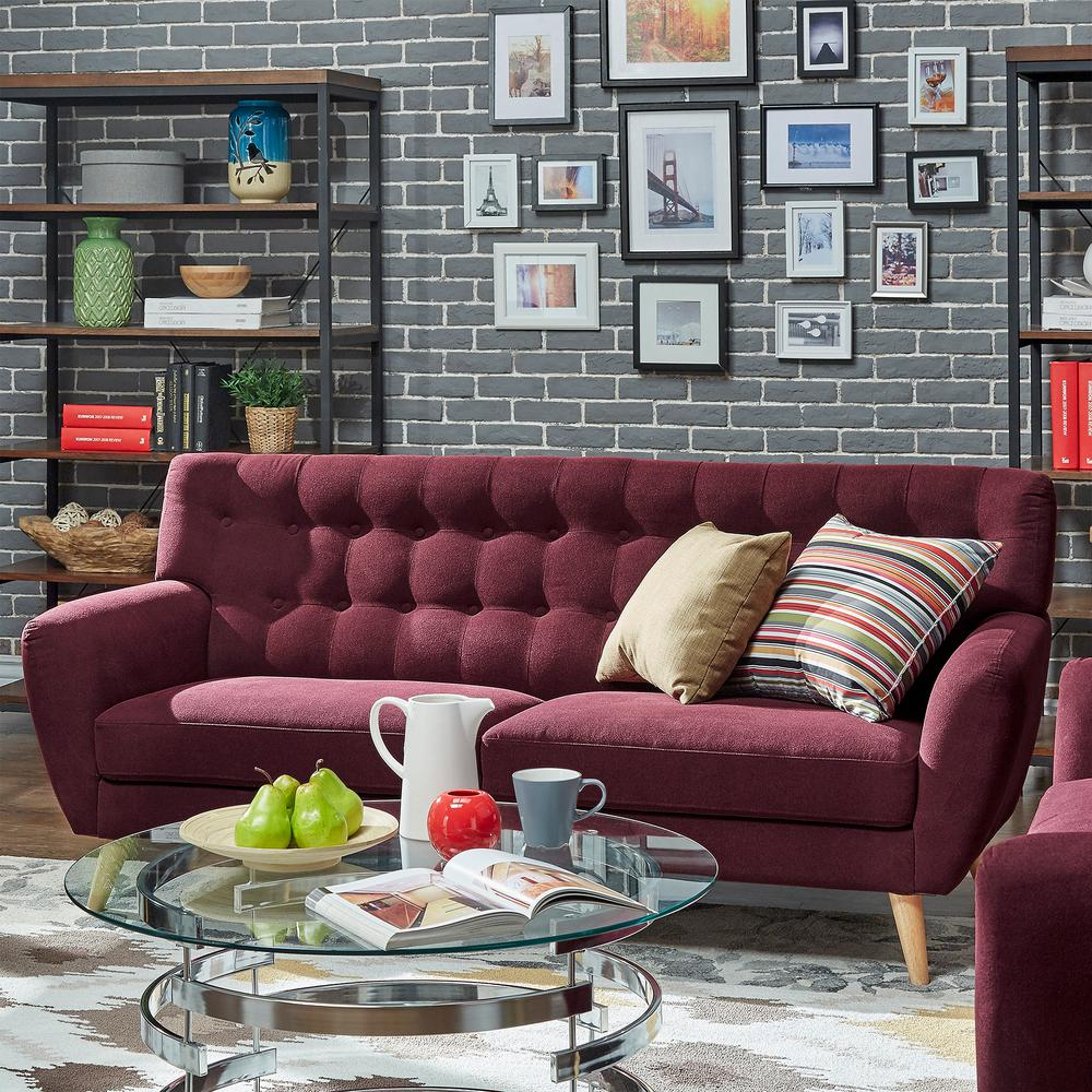 Home Decorators Collection Gordon Natural Linen Sofa Inspirational