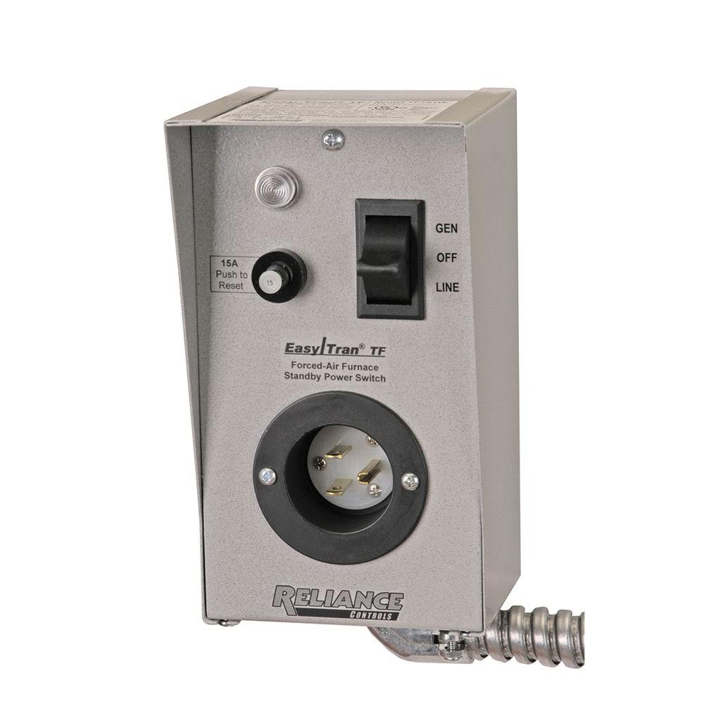 medium resolution of reliance controls furnace transfer switch