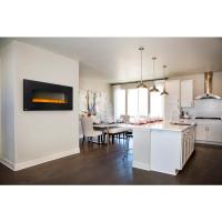 NAPOLEON 50 in. Wall Mount Electric Fireplace in Black ...