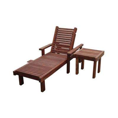 wooden lounge chair cheap adirondack chairs wood weather resistant outdoor chaise lounges patio mission brown finish redwood