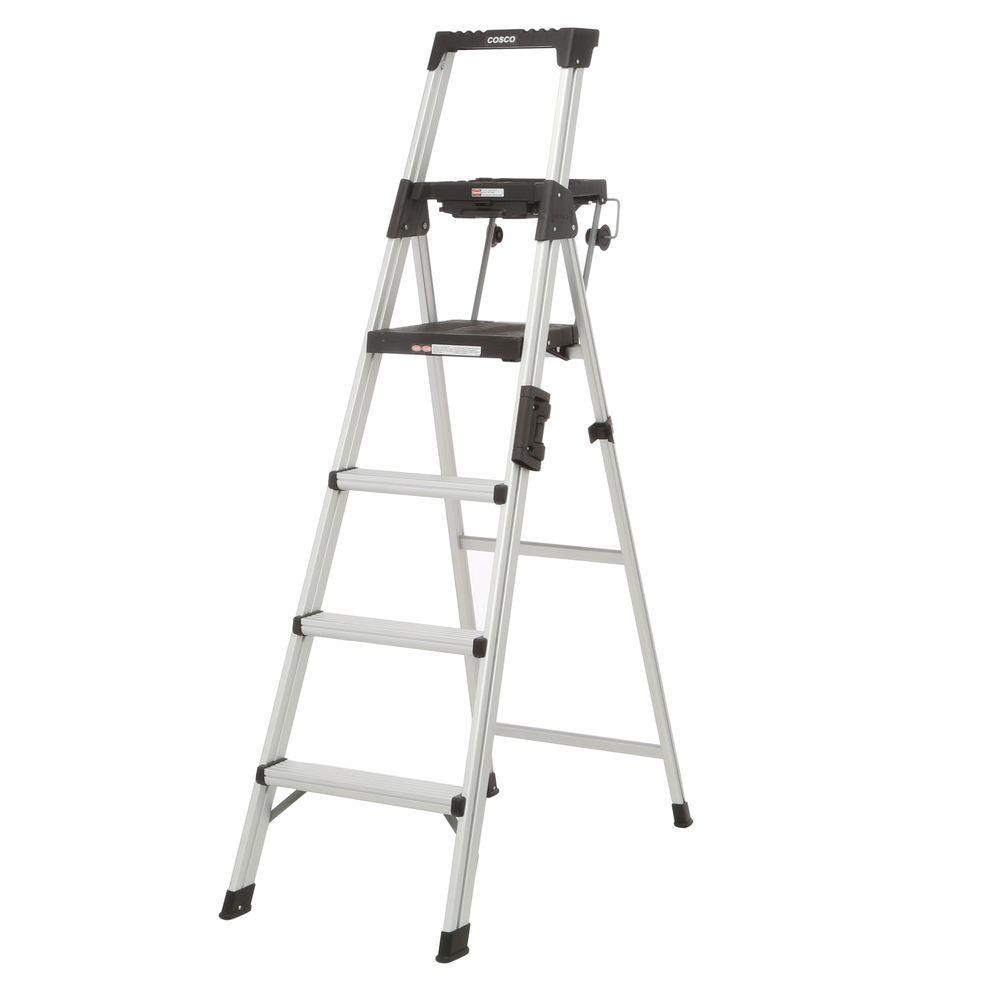 Cosco Signature Series 6 ft. Premium Aluminum Step Ladder