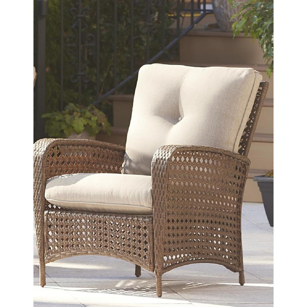 Outside Lounge Chairs Cosco Lakewood Ranch Steel Woven Wicker Patio Lounge Chairs With
