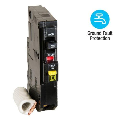 small resolution of qo qwik gard 20 amp single pole gfci circuit breaker