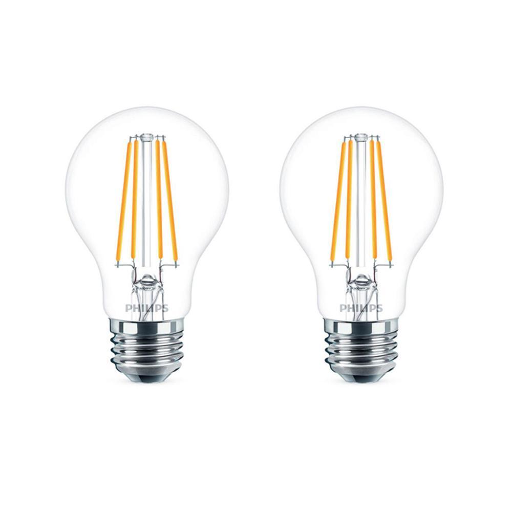 Philips 60-Watt Equivalent A19 Dimmable Energy Saving