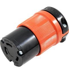 ac works ac connectors nema l6 30r 30 amp 250 volt 3 prong [ 1000 x 1000 Pixel ]