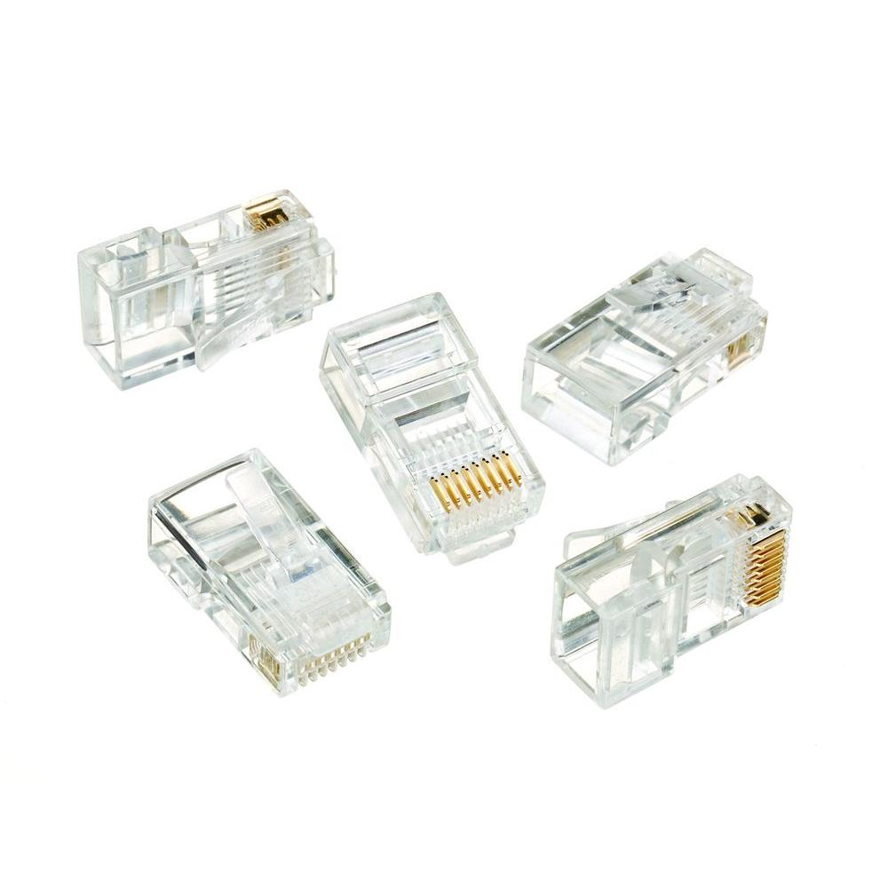 hight resolution of ideal rj 45 8 position 8 contact category 5e modular plugs 50