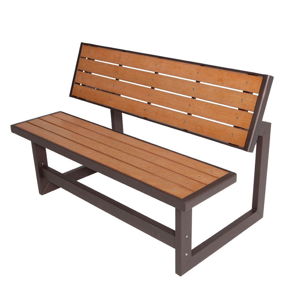 lifetime convertible patio bench