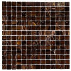 Home Depot Kitchen Flooring Island For Small Merola Tile Coppa Brown Gold 12 In. X 4 Mm Glass ...