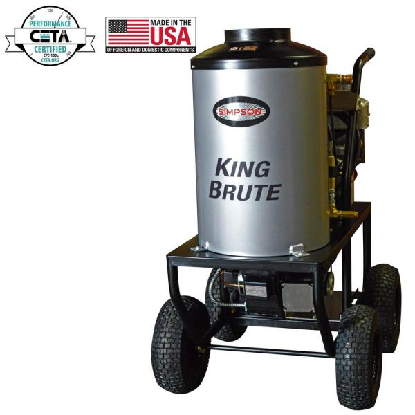 Simpson King Brute 3000 Psi 2.8 Gpm Briggs And Stratton
