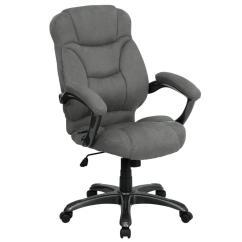 Microfiber Office Chair Cowhide Sling Carnegy Avenue Gray Cga Go 2418 Gr Hd The