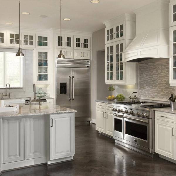 american woodmark kitchen cabinets American Woodmark Custom Kitchen Cabinets Shown in Classic
