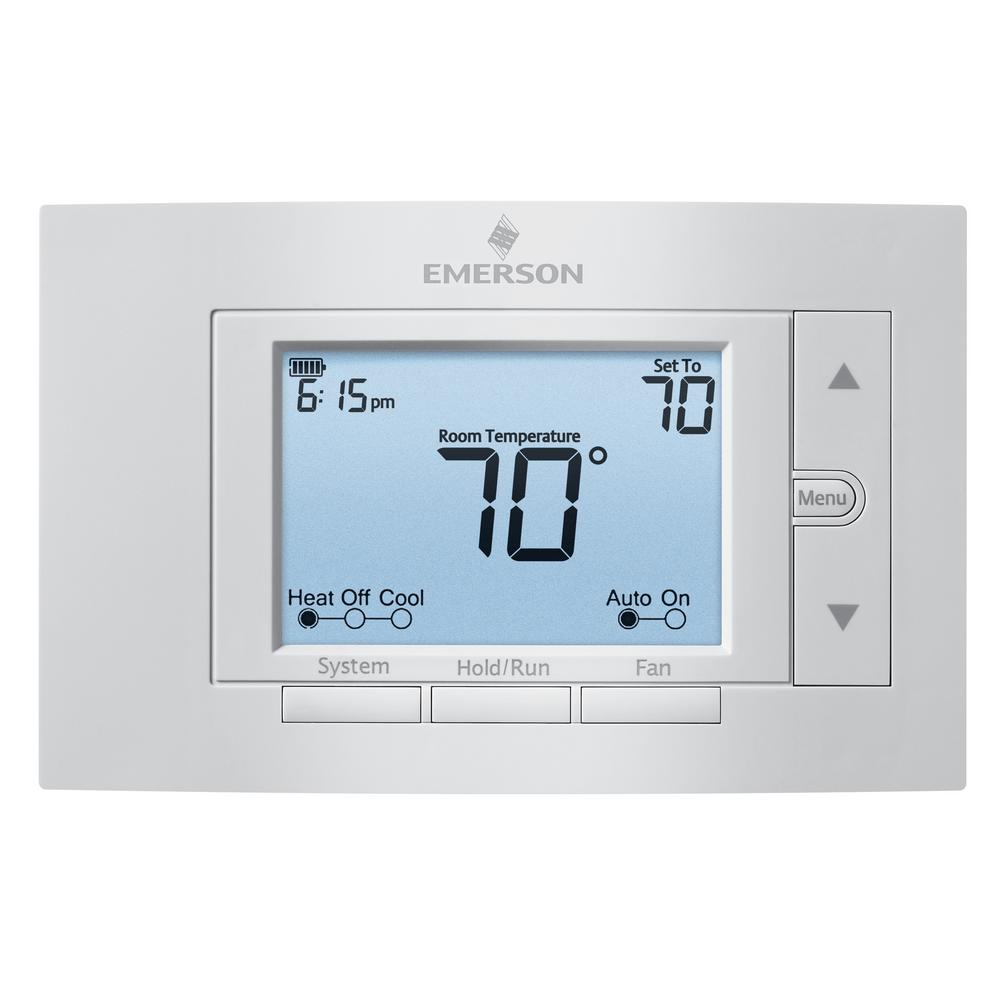 hight resolution of 7 day programmable thermostat