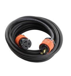 soow 12 3 nema l5 20 20 amp 125 volt rubber extension cord [ 1000 x 1000 Pixel ]