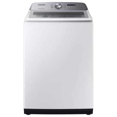 Lg Electronics 5 0 Cu Ft High Efficiency Mega Capacity Smart Top Load Washer With Turbowash3d And Wi Fi Enabled In White Energy Star Wt7300cw The Home Depot