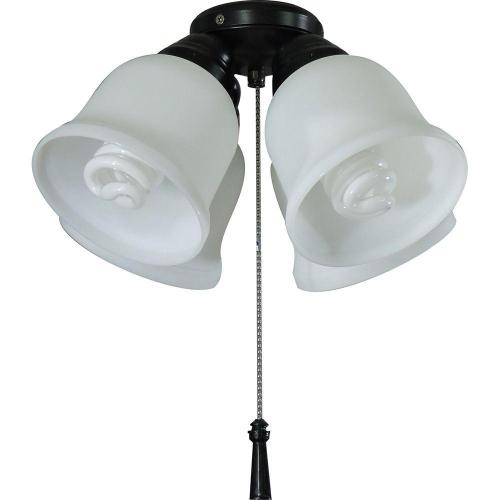 small resolution of hampton bay 4 light universal ceiling fan light kit with shatter resistant shades