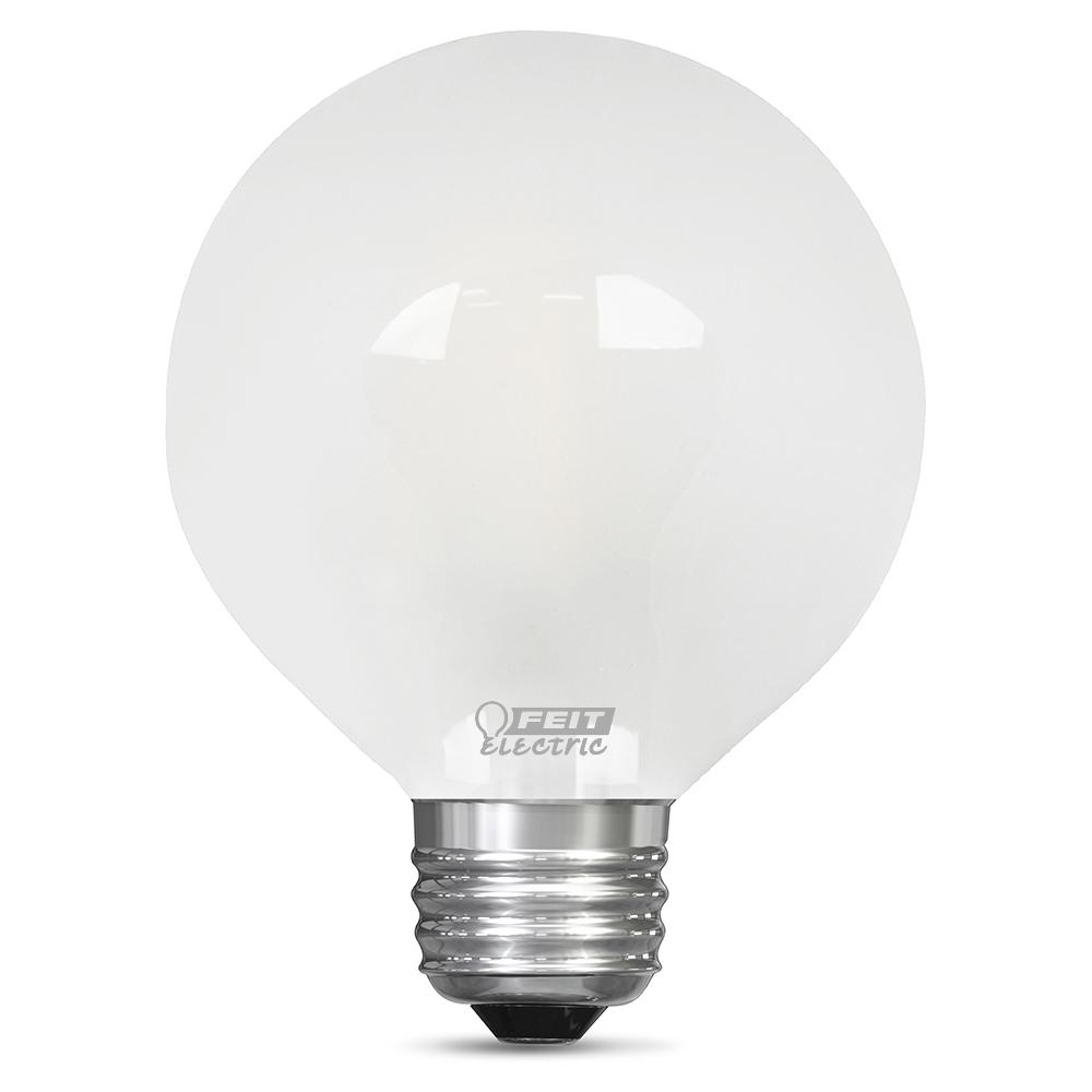 Feit Electric 60Watt Equivalent Soft White G25 Dimmable