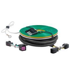 curt custom towed vehicle rv wiring harness 58935 the home depot jeep tow vehicle wiring harness towed vehicle wiring harness [ 1000 x 1000 Pixel ]