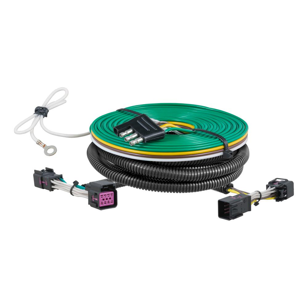 hight resolution of curt custom towed vehicle rv wiring harness 58935 the home depot jeep tow vehicle wiring harness towed vehicle wiring harness
