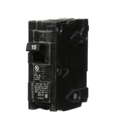 siemens 15 amp single pole type qp circuit breaker [ 1000 x 1000 Pixel ]