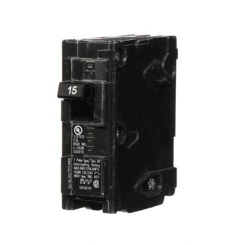 small resolution of siemens 15 amp single pole type qp circuit breaker