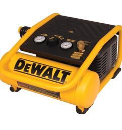 dewalt 1 gal portable electric trim air compressor [ 1000 x 1000 Pixel ]