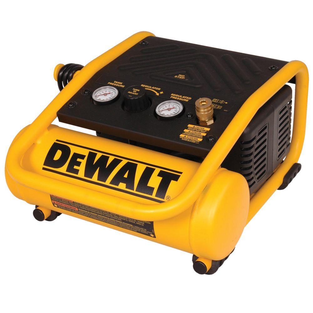 hight resolution of dewalt 1 gal portable electric trim air compressor