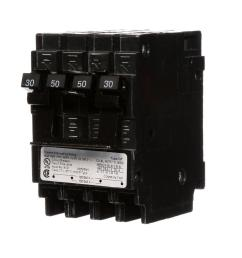 siemens quadplex one outer 50 amp double pole and one inner 30 amp 30 amp 2 pole breaker wiring diagram [ 1000 x 1000 Pixel ]