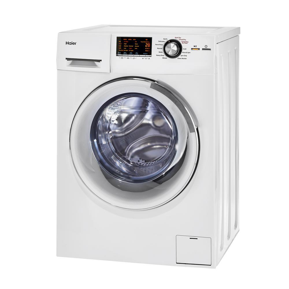 medium resolution of haier 2 0 cu ft white 120 volt ventless electric washer dryerhaier 2 0 cu ft