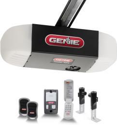 silentmax 750 3 4 hpc ultra quiet belt drive garage door opener with wireless keypad [ 1000 x 1000 Pixel ]