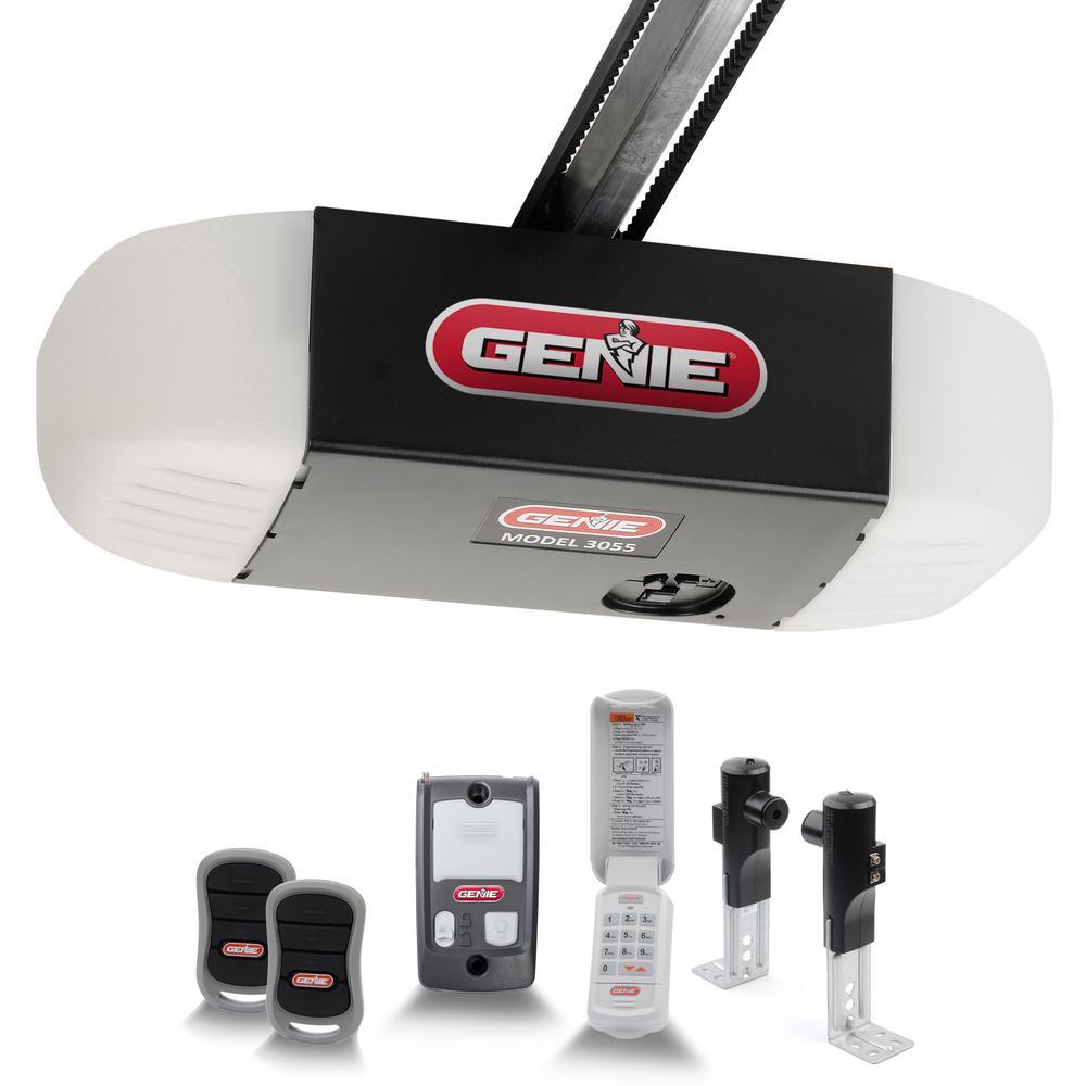 hight resolution of silentmax 750 3 4 hpc ultra quiet belt drive garage door opener with wireless keypad