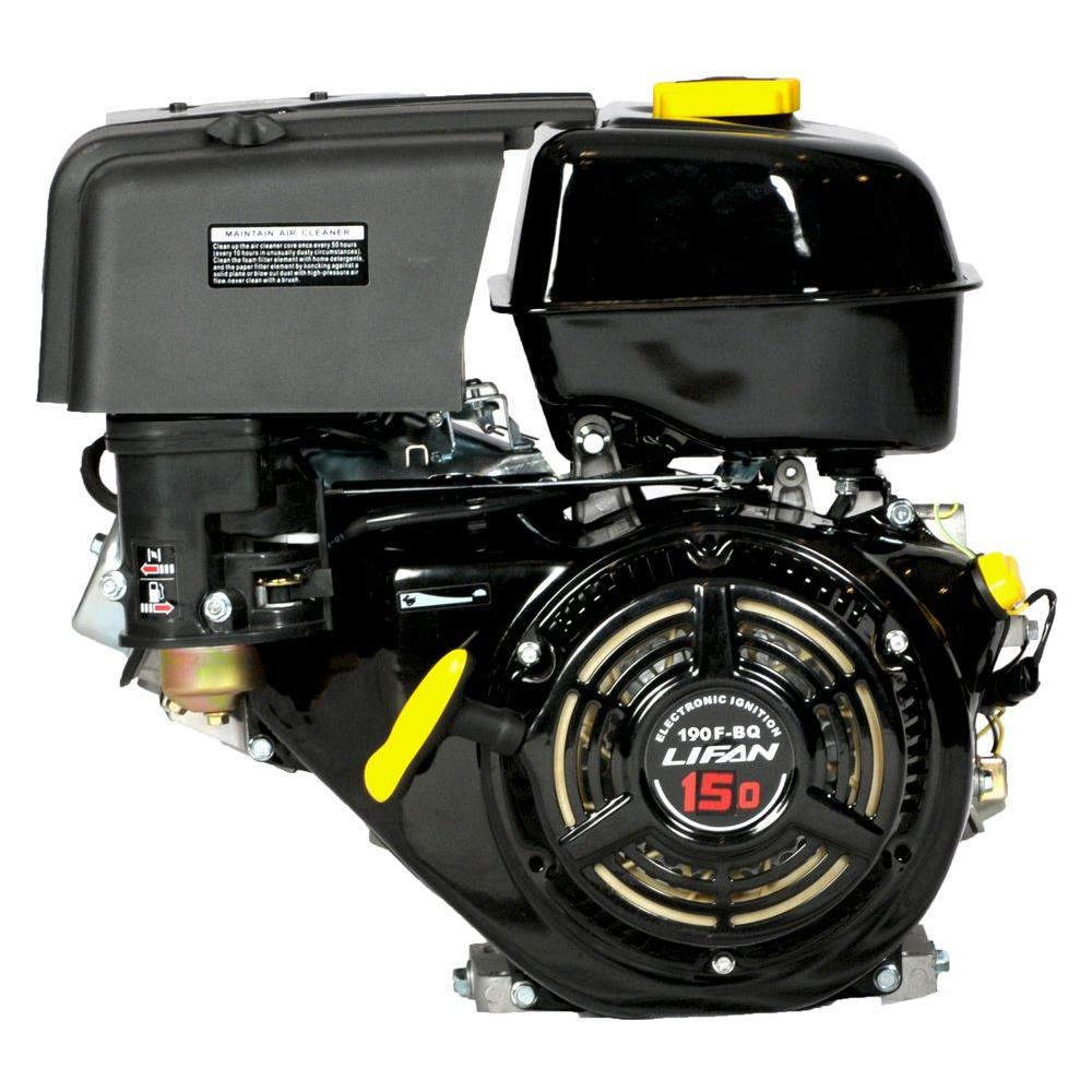 medium resolution of 15 hp 420cc ohv electric start horizontal keyway shaft gas engine with 18 amp charger