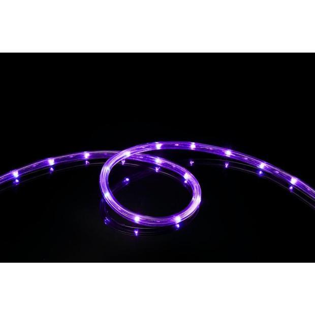 Purple LED Rope Lights Indoor